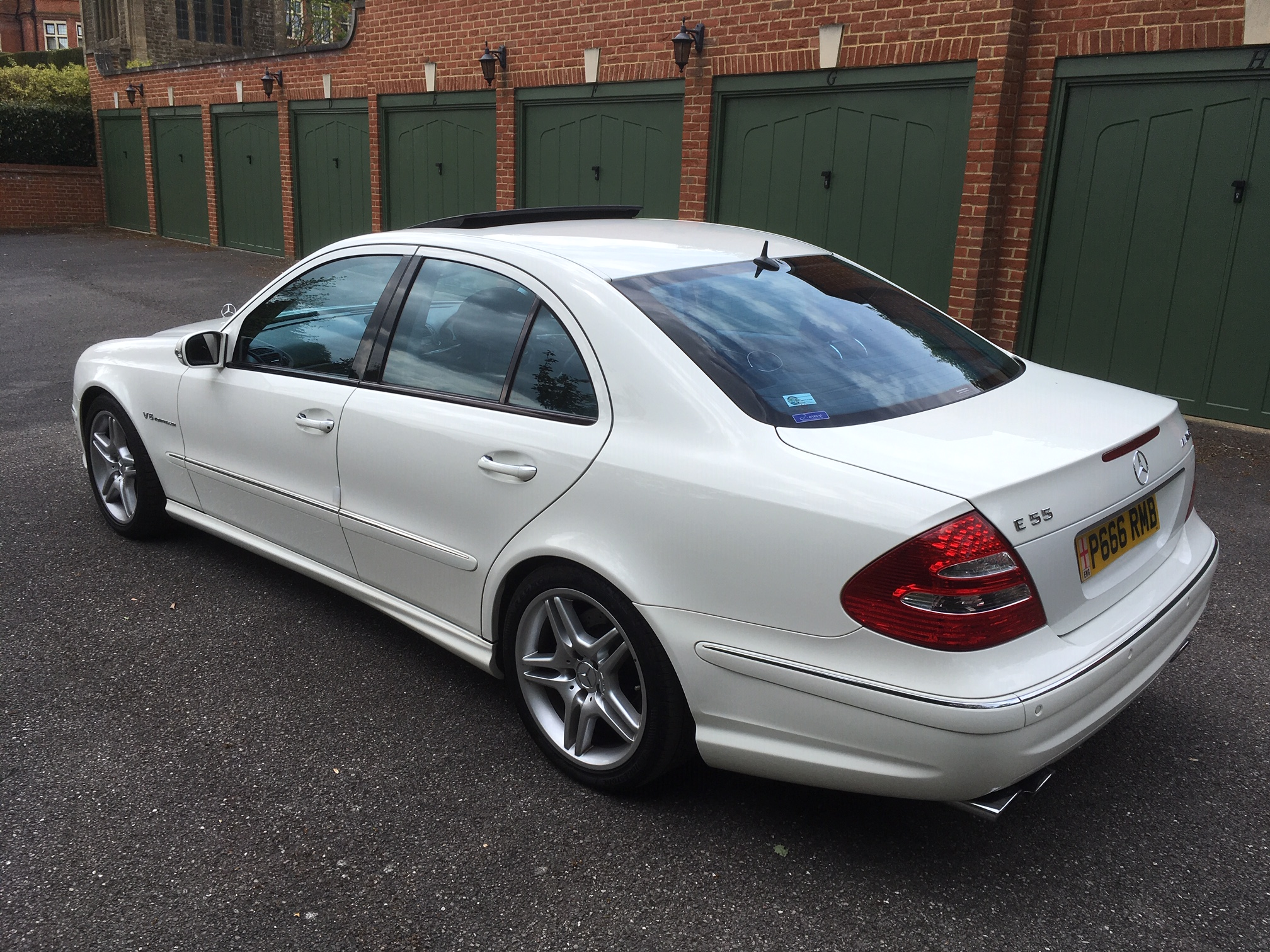 2006 Mercedes E55 AMG Supercharged, 35000 miles warranted